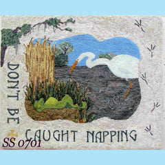 Caught Napping - Seaside Rug Hooking Company Pattern