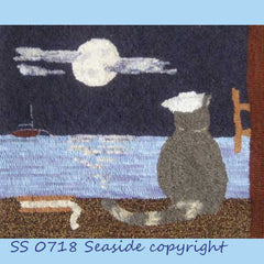 Midnight Watch - Seaside Rug Hooking Company Pattern