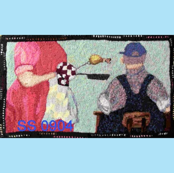 Born and Breaded in the South - Seaside Rug Hooking Company Pattern