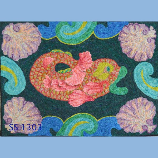 Pacifica - Seaside Rug Hooking Company Pattern