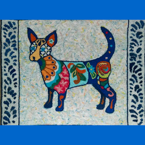 Talavera Dog Pattern