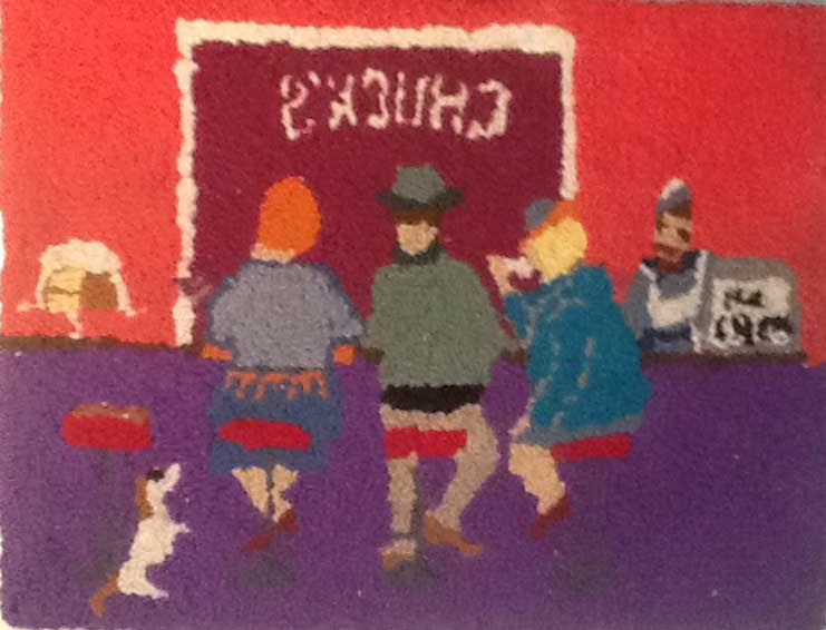 Chuck's Diner - Seaside Rug Hooking Company Pattern