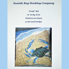 Crab Kit - Seaside Rug Hooking Company Kit