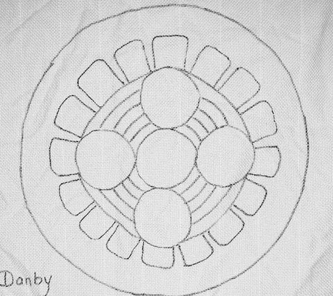 Danby Chair Pad Pattern