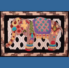 Painted Elephant - Seaside Rug Hooking Company Pattern