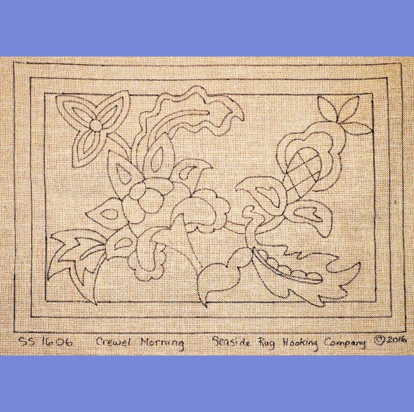 Crewel Morning - Seaside Rug Hooking Company Pattern