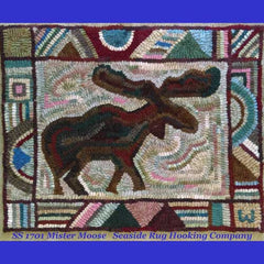 Mister Moose Kit - Seaside Rug Hooking Company Kit