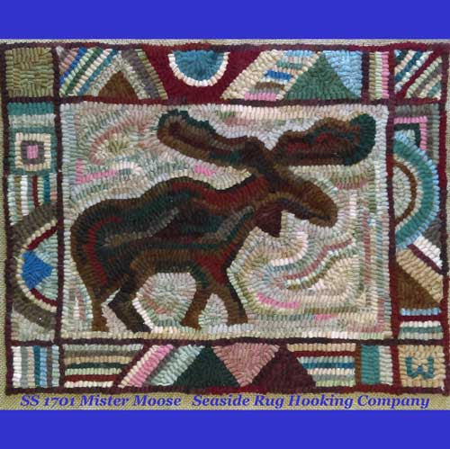 Mister Moose - Seaside Rug Hooking Company Pattern