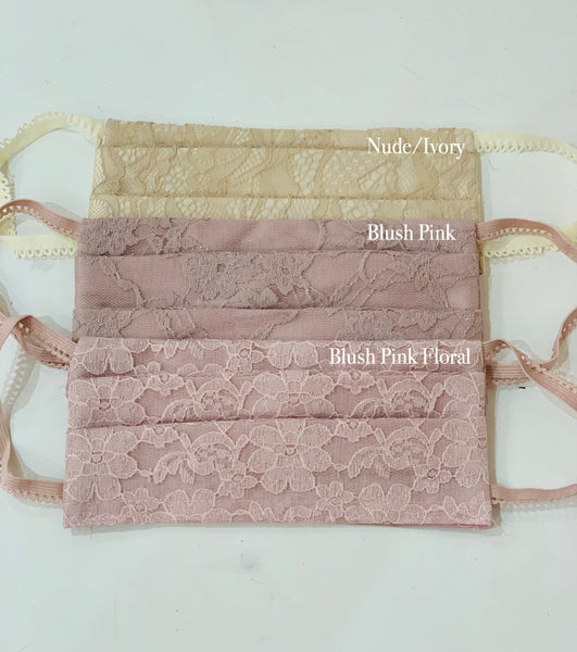NON-MEDICAL BLUSH PINK FASHION MASK