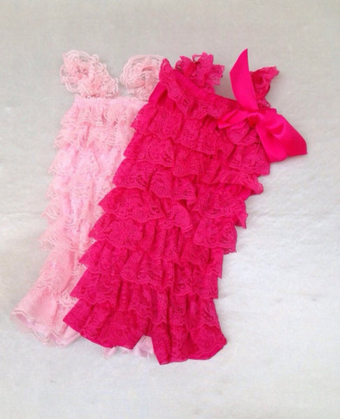 SALE - LIGHT PINK ROMPER