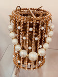 SOLD OUT- Luxury Pearl Cage Bag