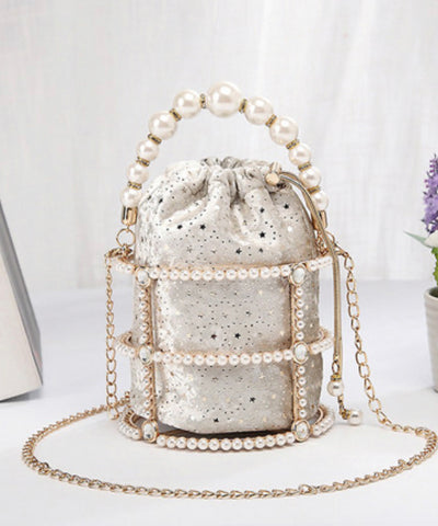 SOLD OUT - Luxury Bridal Metal Bag