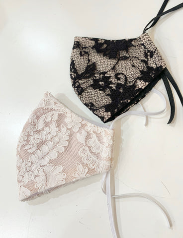 BRIDAL LACE NON-MEDICAL FASHION MASK