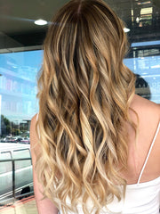 blond wave hairstyle