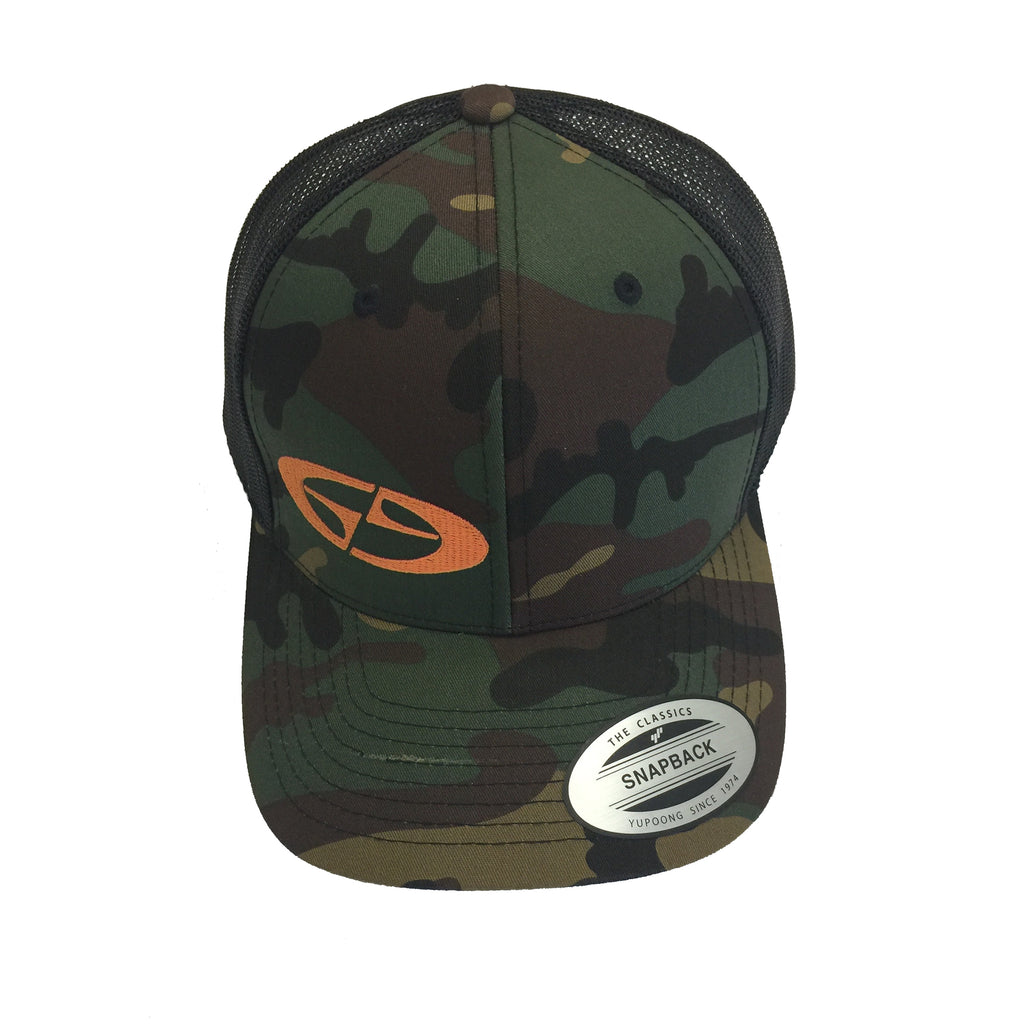 Gravity Gear Retro Camo Trucker Hat
