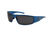 Magnum Colored Frame Polarized Sunglasses