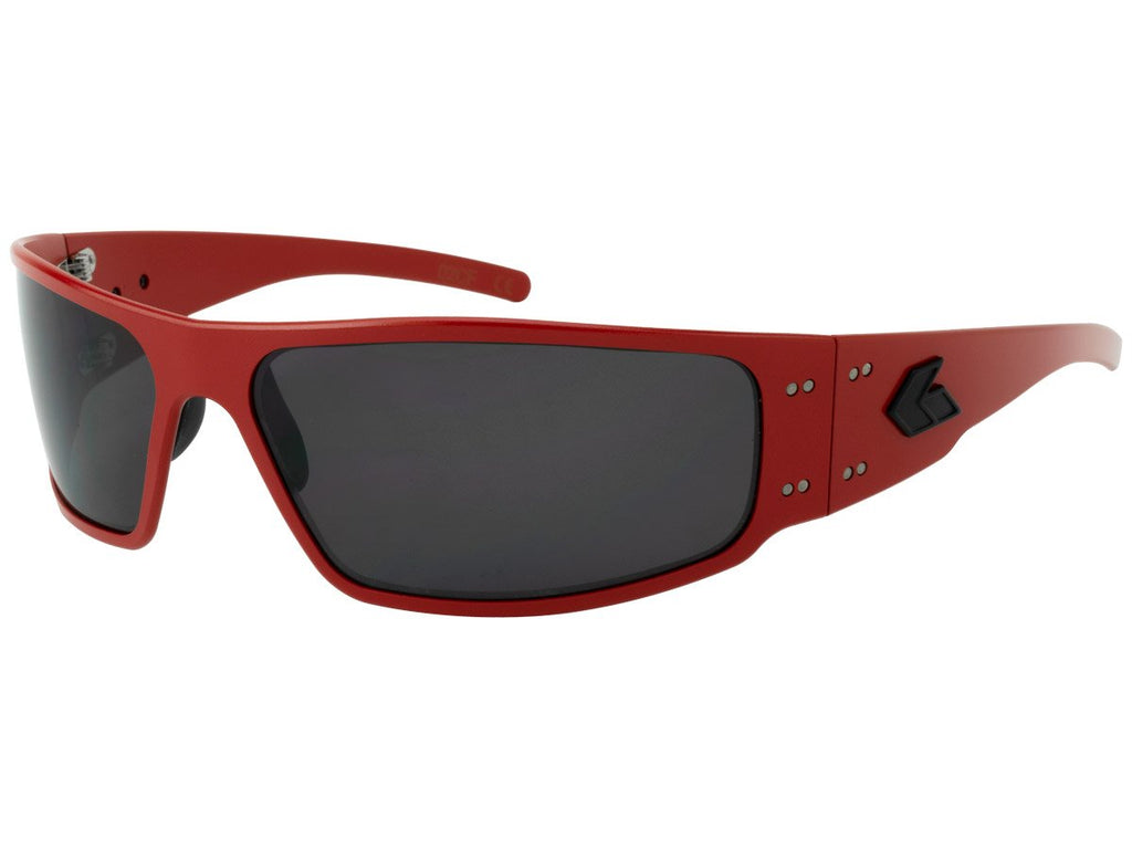 Magnum Cerakote Red / Smoked Polarized