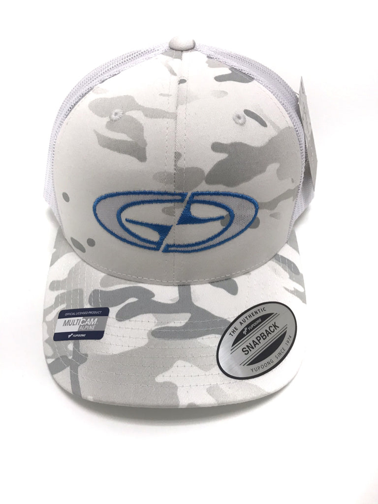 Gravity Gear Alpine Camo Trucker Hat