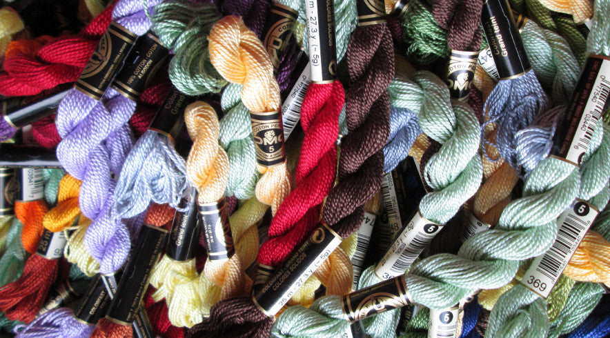 Yarns <br> All the Colours you Need