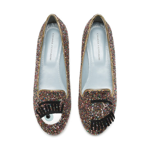 Flirting Glitter Multicolor Slippers