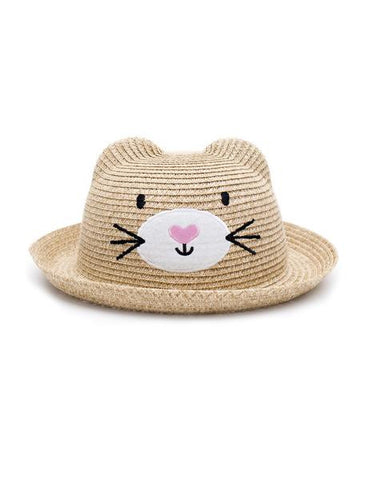 Cat Face Sun Hat