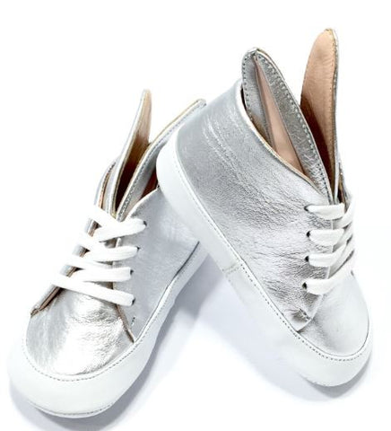 Baby Bunny Silver Sneaks