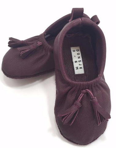 Lucca Shoes Maroon
