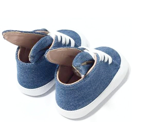 Baby Bunny Denim Sneaks