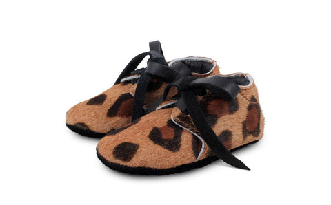 Safari Shoes - Cow hair Tiger Print