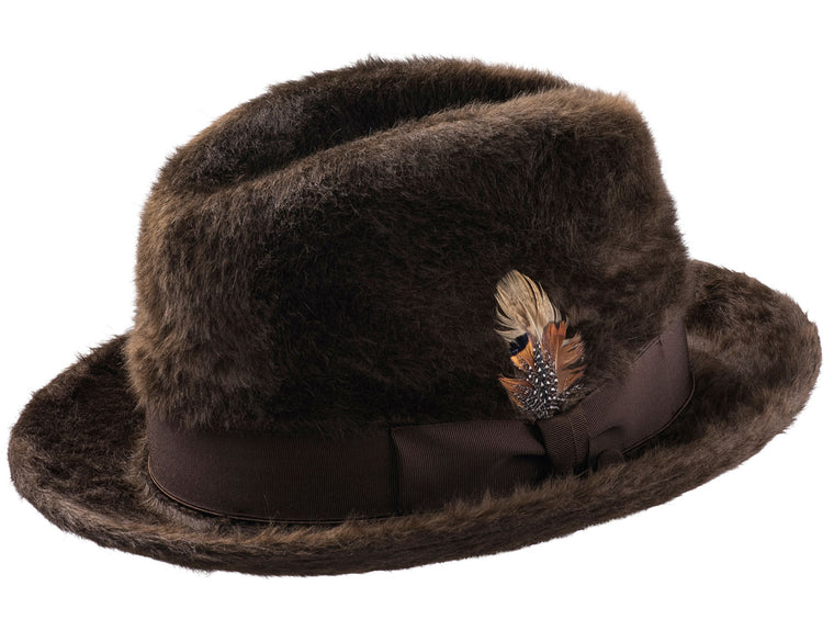 Rose Beaver Long Hair Hat
