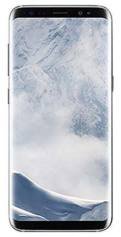"Samsung Galaxy S8+ 64GB Single SIM Unlocked Phone - 6.2"" Screen - International Version (Arctic Silver)"