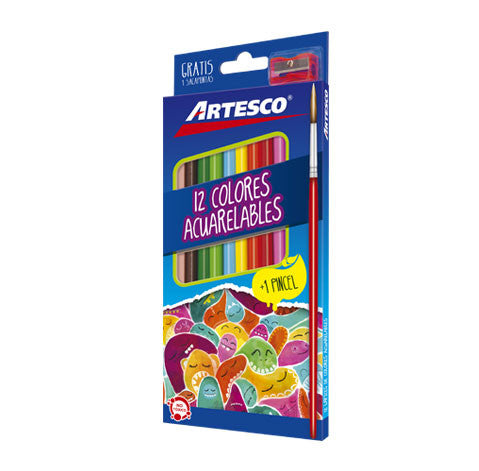 Colores Acuarelables. Artesco
