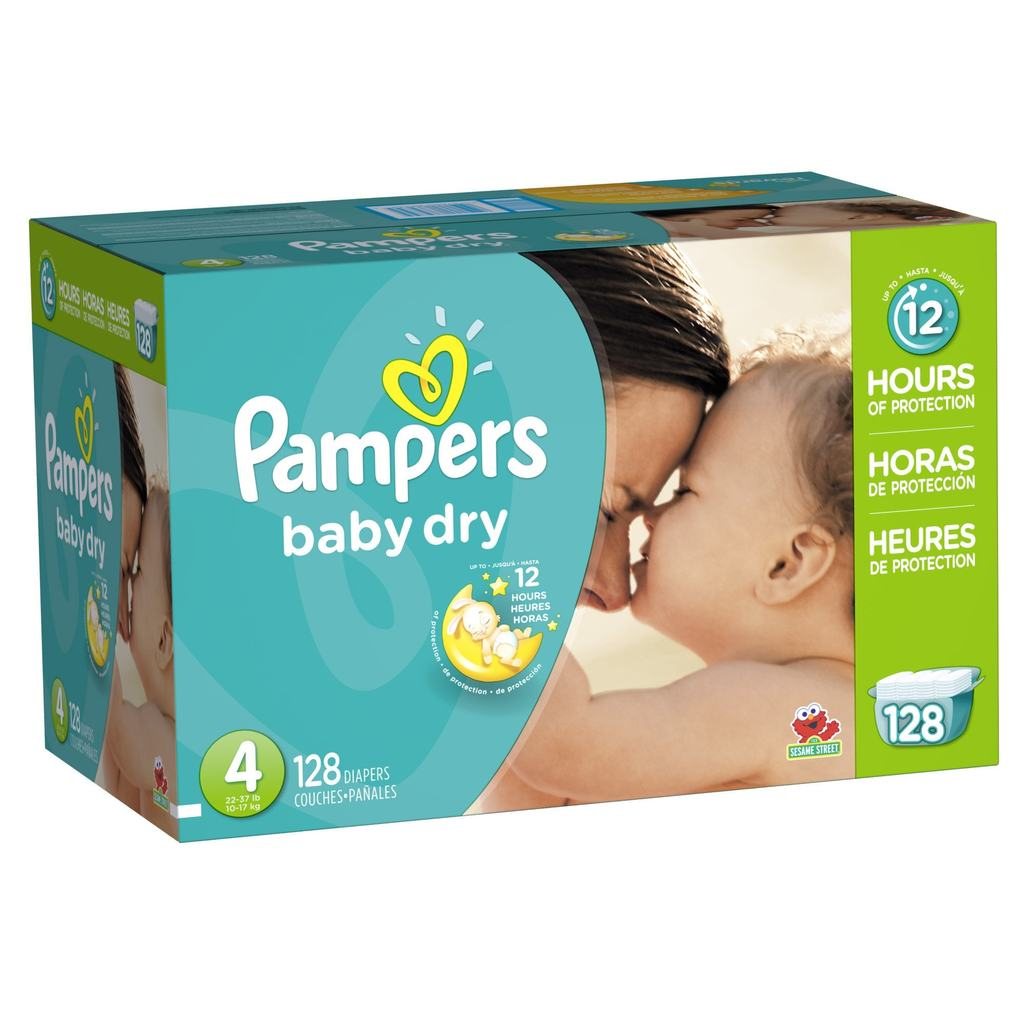 Pañales Baby dry. Pampers