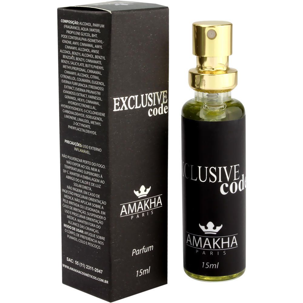 EXCLUSIVE CODE FOR MEN - PERFUME 33% ESENCIA