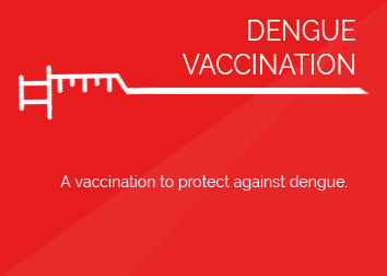 DENGUE VACCINATION (per shot)