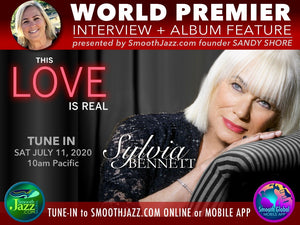 Tune In on Saturday, for Sylvia's World Premier on SmoothJazz.com