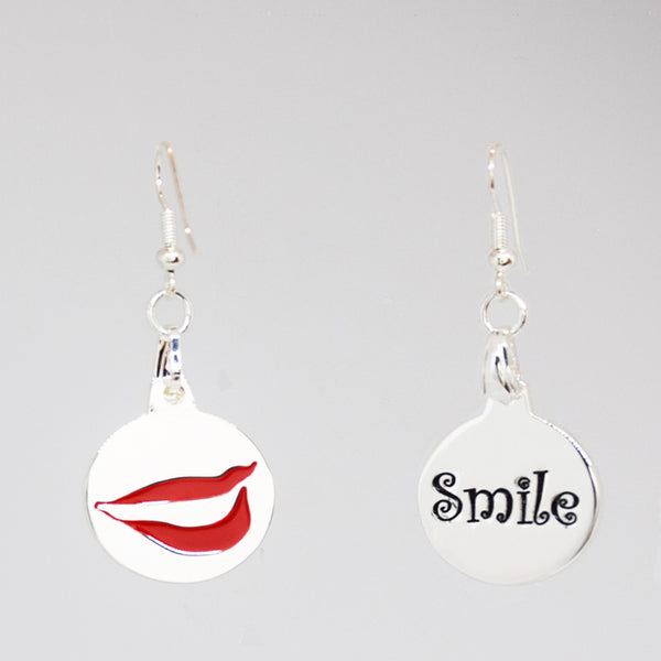 Smile Charm Earrings