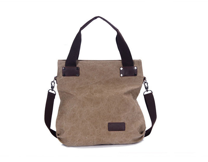 Casual Canvas Crossbody Bag - FIREVOGUE