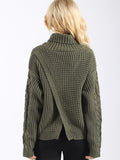 Baby Come Back Knit Sweater - FIREVOGUE