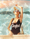 Dope One-piece Swimsuit - FIREVOGUE