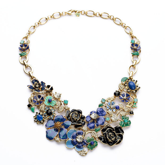 Flower Charm Luxury Necklace - FIREVOGUE
