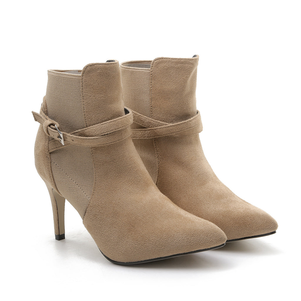 Endless Love High Heel Ankle Boots