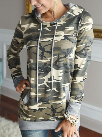 Army of One Camouflaged Hoodie