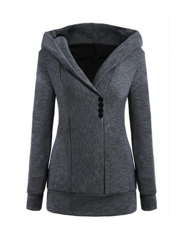 Something New Long sleeved Hooded Sweatshirt