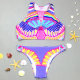Your Dream  Exotic Pattern Bikini Sets - FIREVOGUE