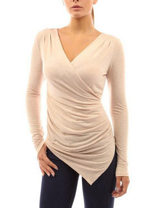 Feel On Baby Asymmetric Wrap Top