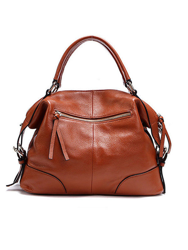 Women's Leather Handbag/Shoulder Bag - FIREVOGUE