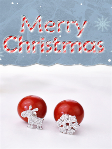 You Should Have This Fashionable Romantic Christmas Earrings