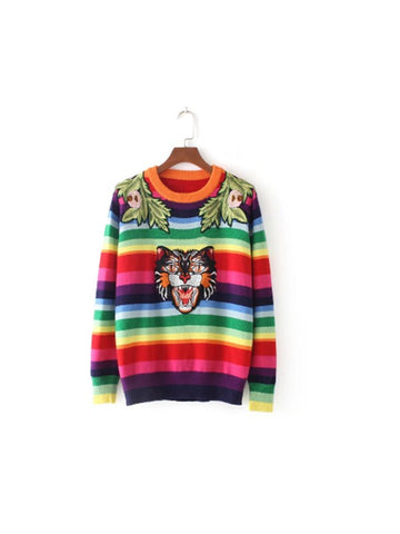 Over The Rainbow Pullover Sweater