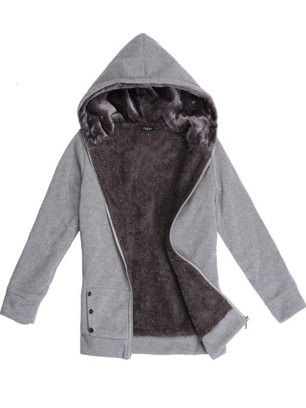 Keep You Warm Hooded Outerwear - FIREVOGUE